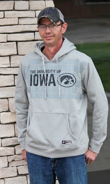 Iowa Decked Out Hoodie - Unisex Adult