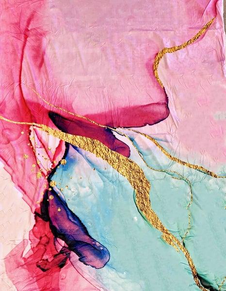 Magenta Deluxe Plush Blanket *Final Sale*