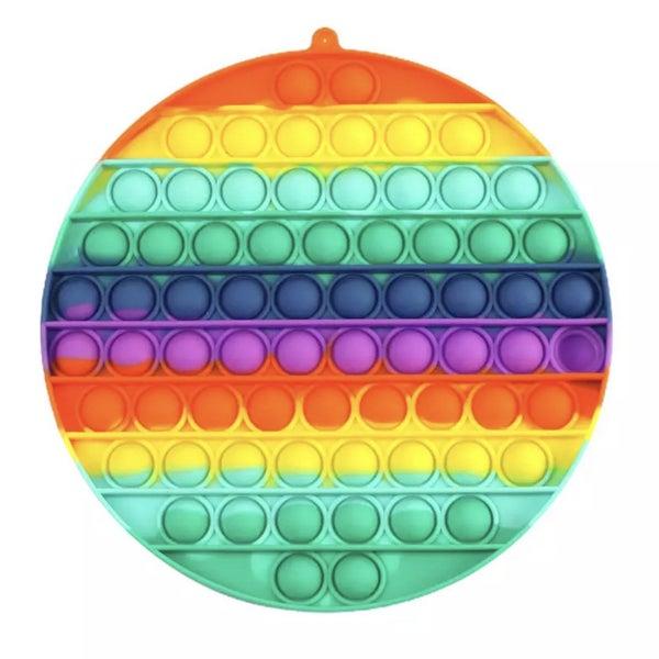 Large Rainbow Round Fidget Popper *Final Sale*