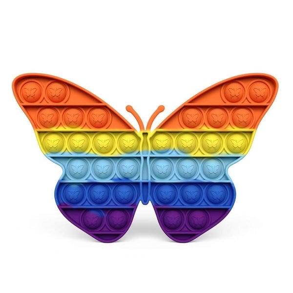 Rainbow Butterfly Fidget Popper *Final Sale*