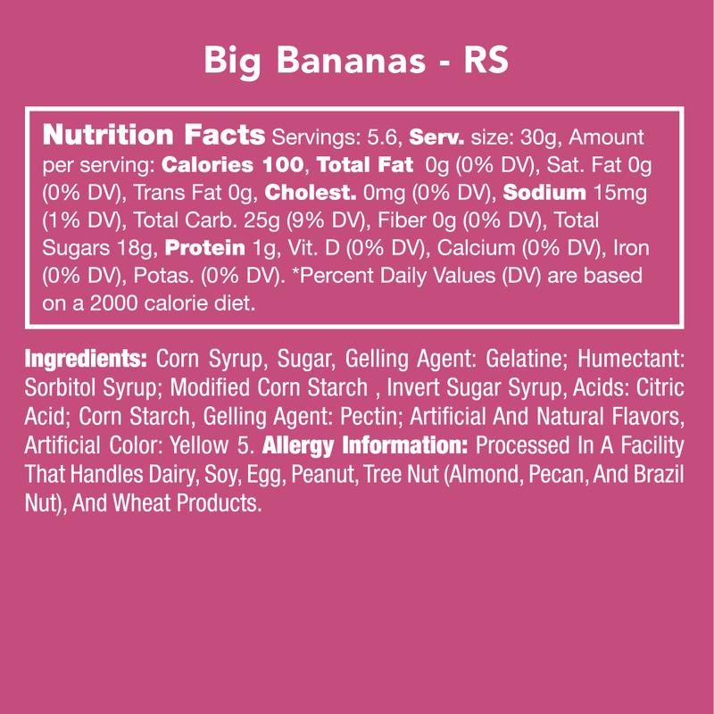 Big Bananas - Candy Club *Final Sale*
