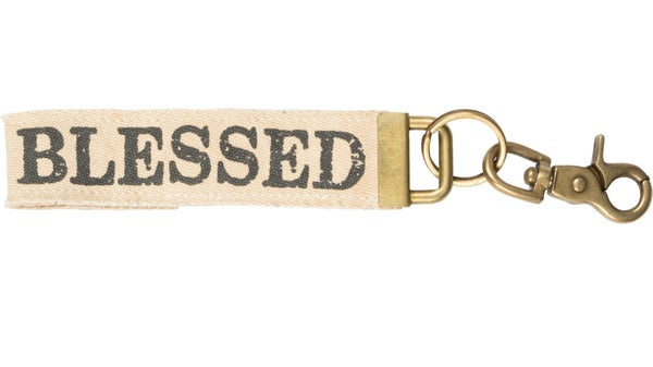 Blessed Canvas Keychain *Final Sale*