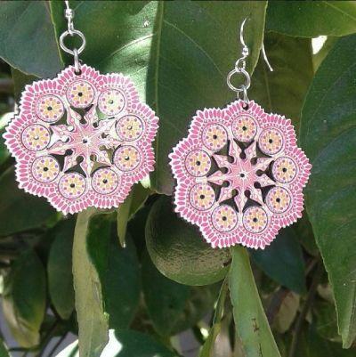Intricate Mandala Earrings *Final Sale*