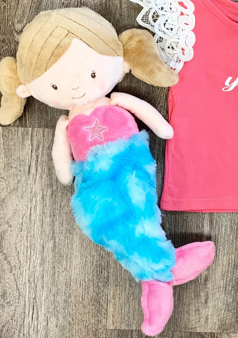 Millie Mermaid Plush Doll *Final Sale*