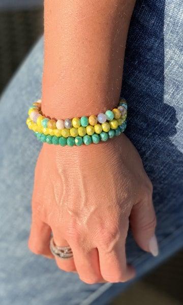 Minty Bracelet Stack For Women *Final Sale*