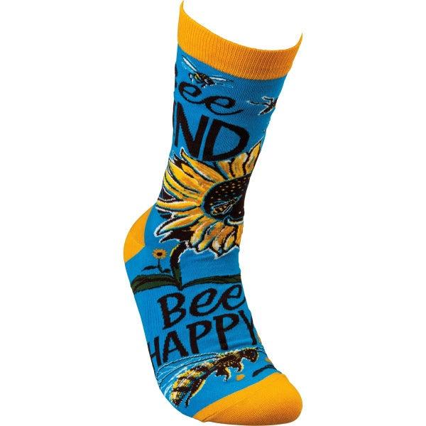 Bee Kind Socks - Adult *Final Sale*