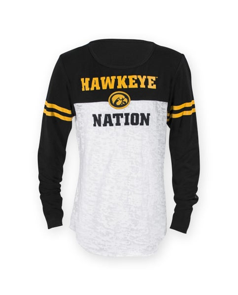 Hawkeye Nation Long Sleeve Top For Youth
