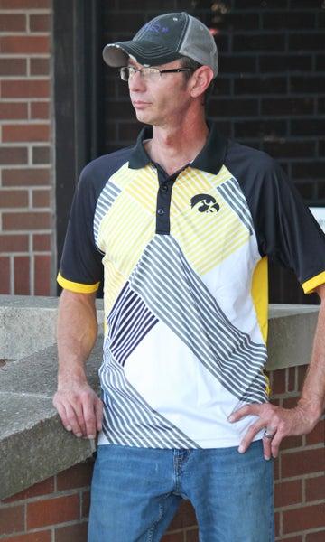 Iowa Hawkeyes Men's Polo