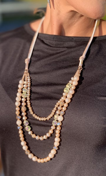 High Society Gold Layered Necklace *Final Sale*