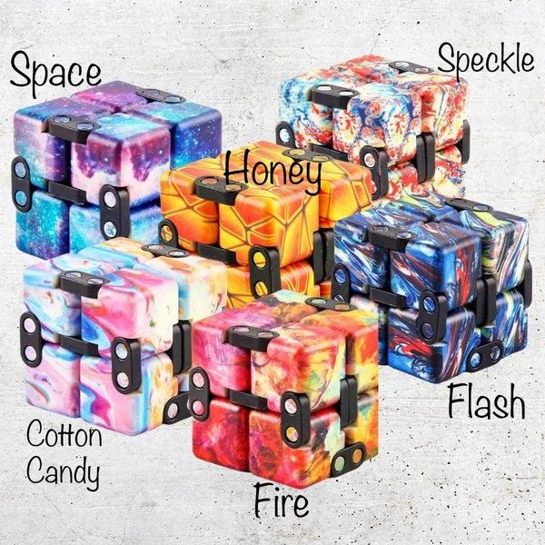 Relaxing Infinity Cube Fidget Toy *Final Sale*