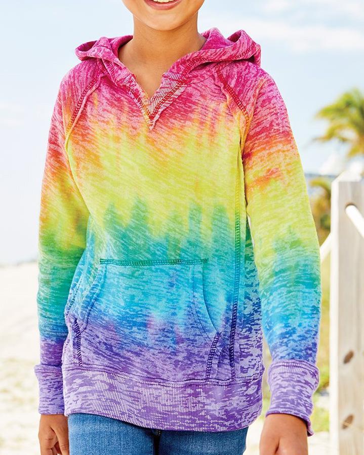Rainbow Hoodie - Youth Girls *Final Sale*
