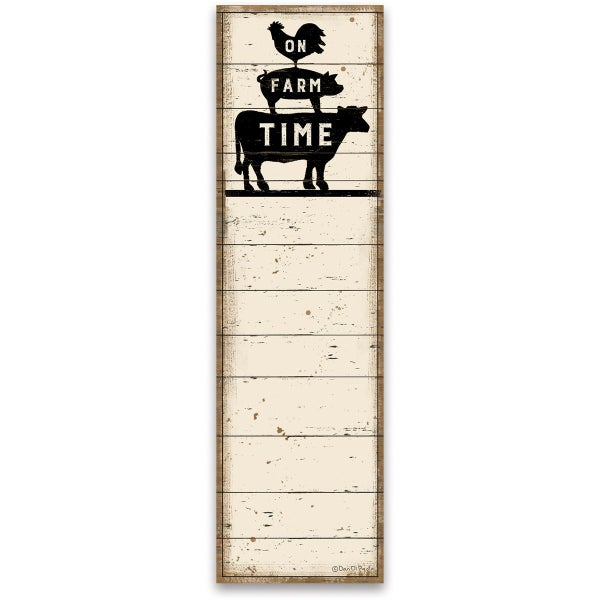 On Farm Time Magnetic Notepad *Final Sale*
