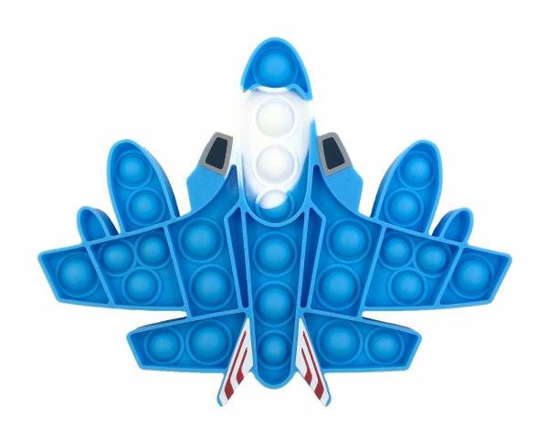 Plane Fidget Popper Toy *Final Sale*