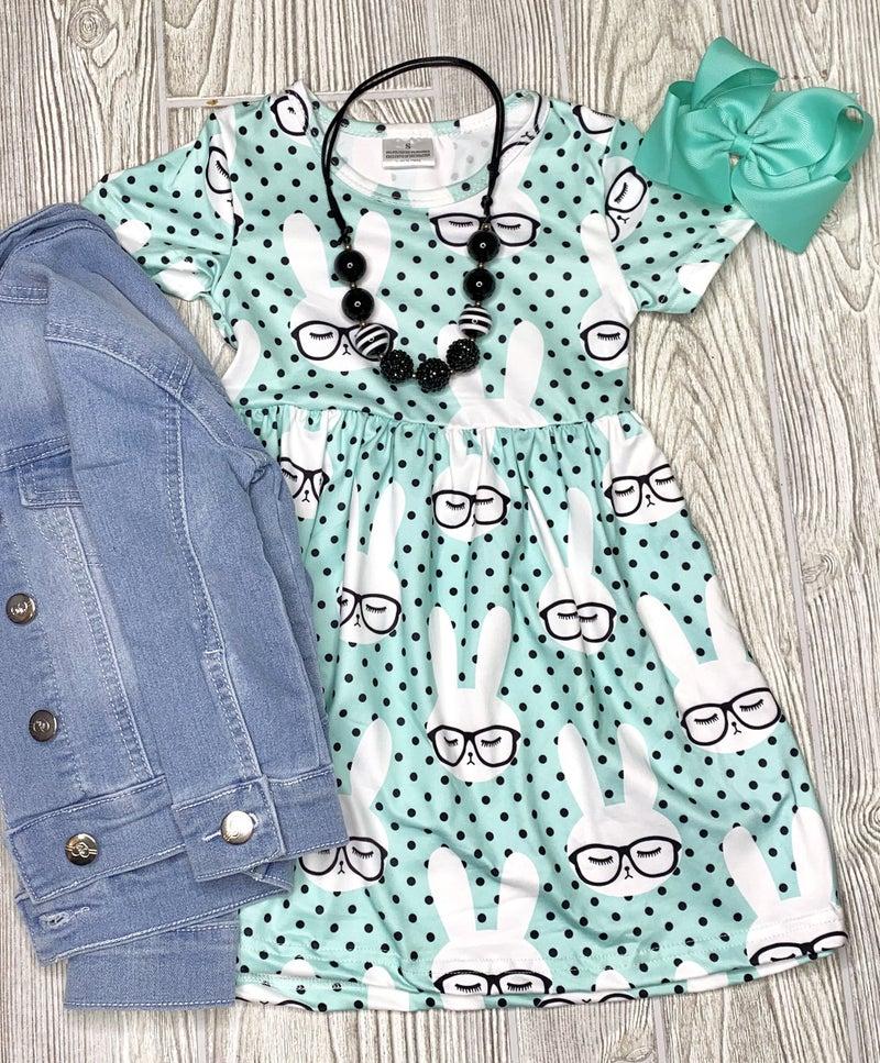 Smart Bunny Dress - Girls *Final Sale*