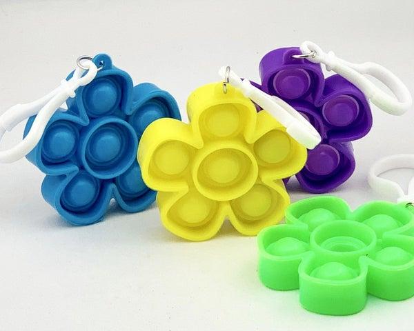 Flower Clip & Go Fidget Popper Toy *Final Sale*