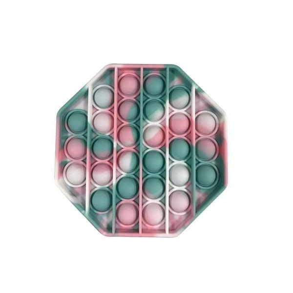 Pink & Mint Octagon Fidget Popper *Final Sale*