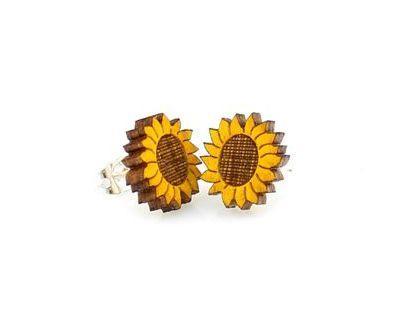 Sunflower Stud Earrings *Final Sale*