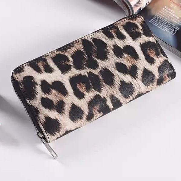 Brown Leopard Wallet *Final Sale*