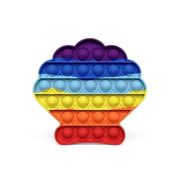 Rainbow Shell Fidget Popper *Final Sale*