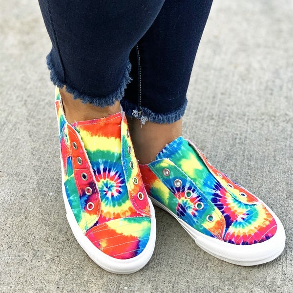 Gypsy Jazz Tie Dye Play Along Sneaker For Women