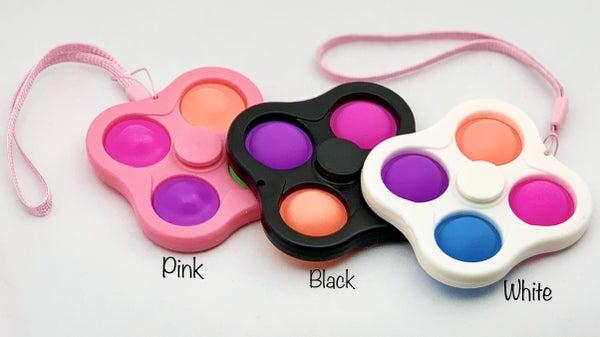Bubble Pop It Fidget Spinner Toy *Final Sale*