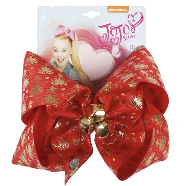 "Jingle Bells  7"" Bow *Final Sale*"