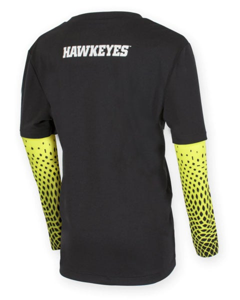 Iowa Scatter Long Sleeve Top For Youth