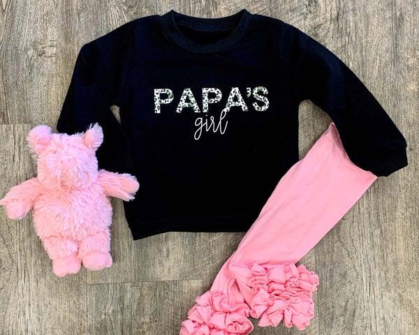 Papa's Girl Crewneck Sweatshirt