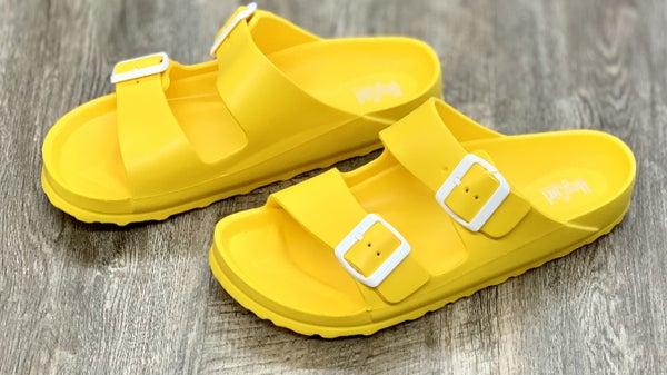 Yellow Waterslide Sandal