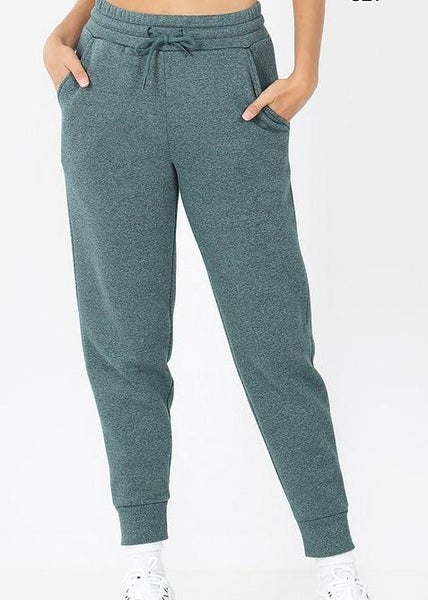 Heather Forest Joggers For Women