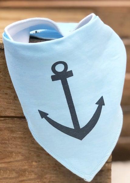 Anchors Away Bandana Bib *Final Sale*
