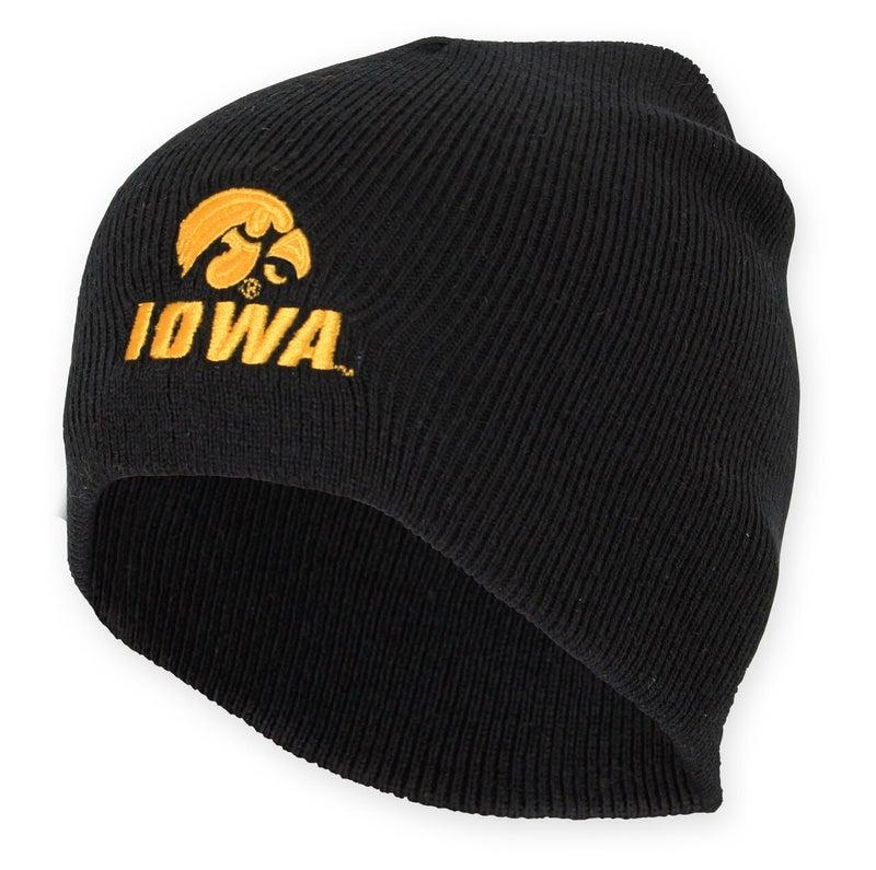 Black Iowa Beanie - Youth *Final Sale*
