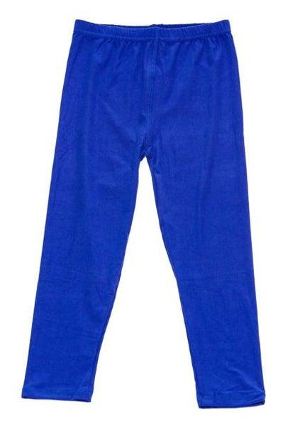 Royal Blue Leggings For Girls