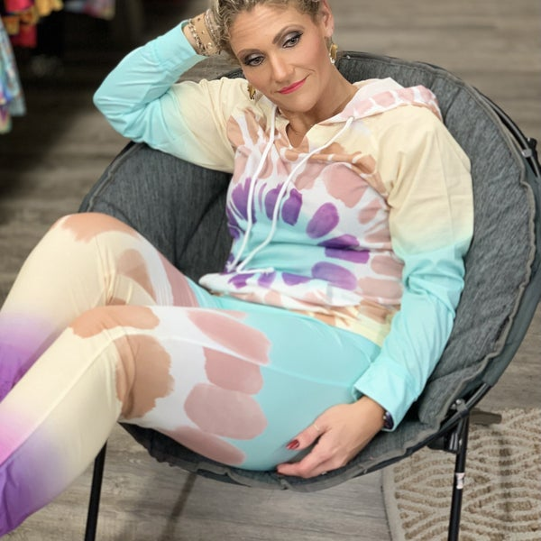 Tie Dye Loungewear Set For Women *Final Sale*