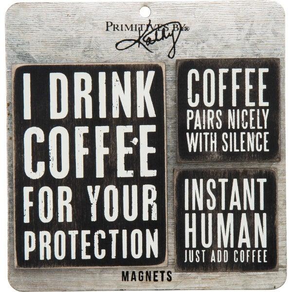 Coffee 3pc Magnet Set *Final Sale*
