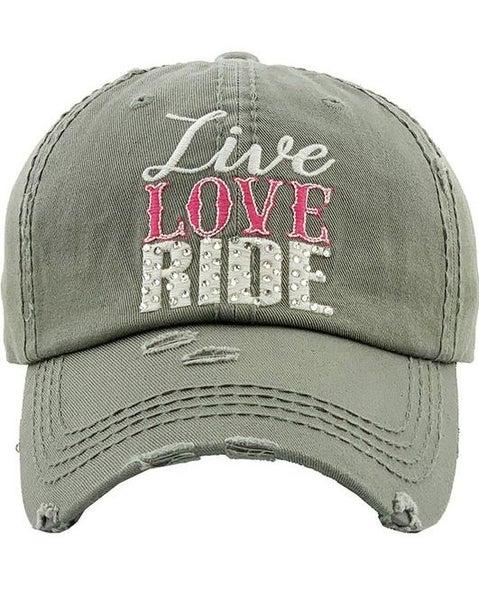 Live Love Ride Hat For Women *Final Sale*