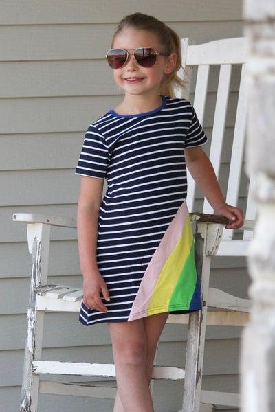 Girls Rainbow Dress *Final Sale*
