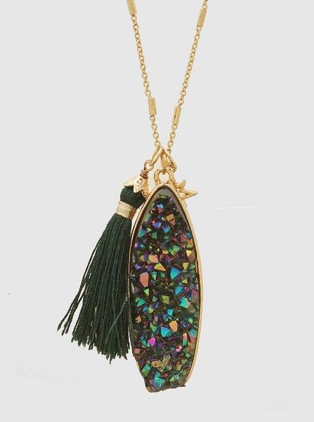 Aurora Druzy Necklace *Final Sale*