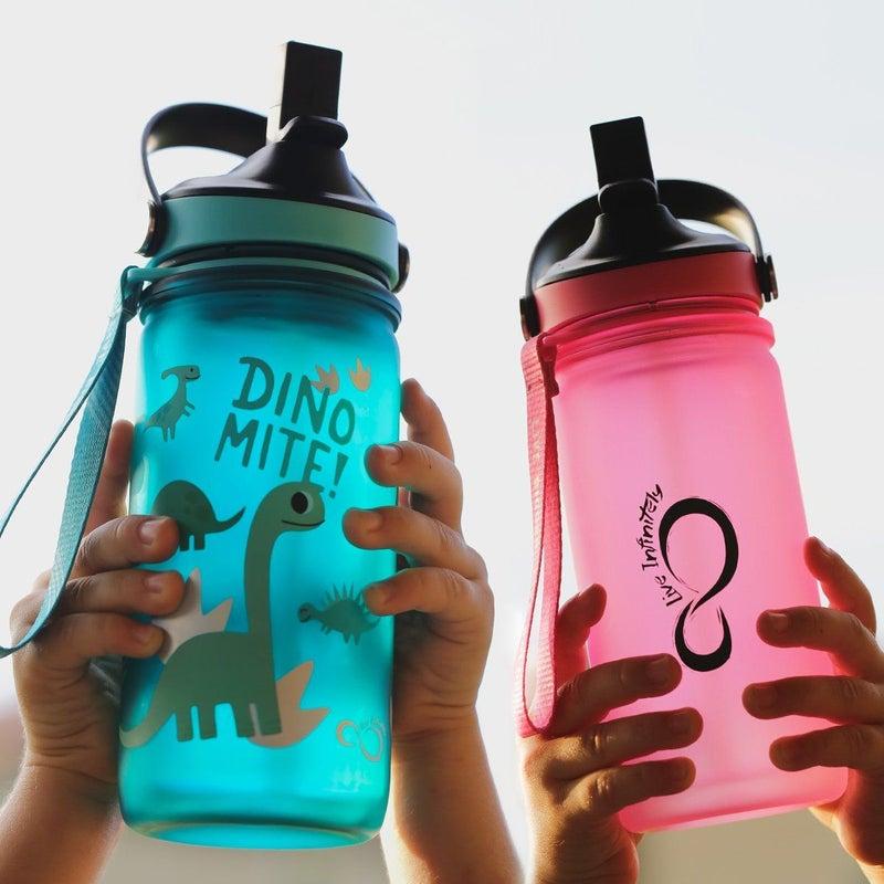 Kids Pink 12oz Sports Bottle