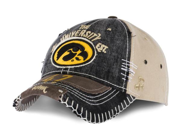 Iowa Enzyme Washed Baseball Hat - Unisex *Final Sale*