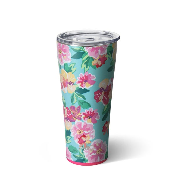 Swig Island Bloom 32oz Tumbler