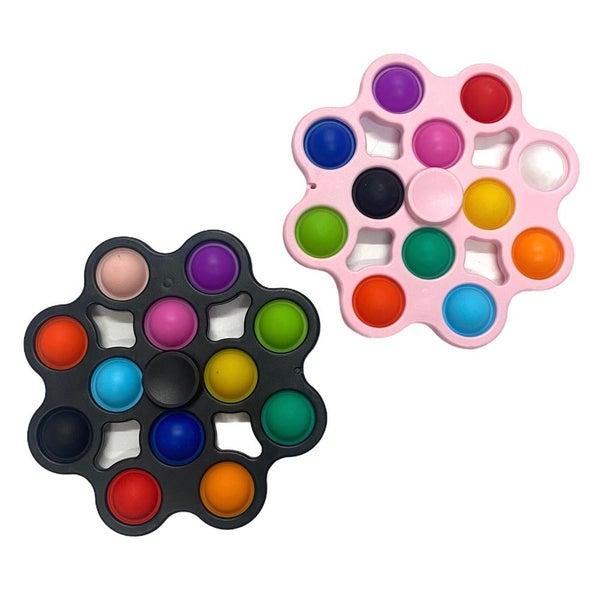 Jumbo Spinner Crazy Snap Fidget Toy *Final Sale*