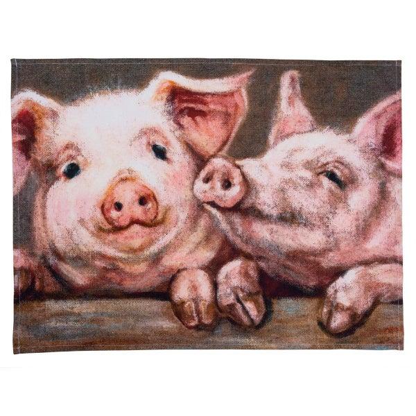 Pigs Dish Towel *Final Sale*