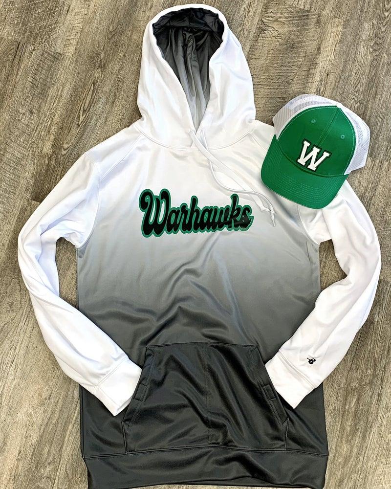 Warhawks Gray Ombre Sweatshirt For Adults