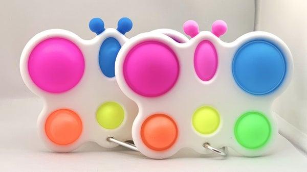 Butterfly Simple Dimple Fidget Toy *Final Sale*