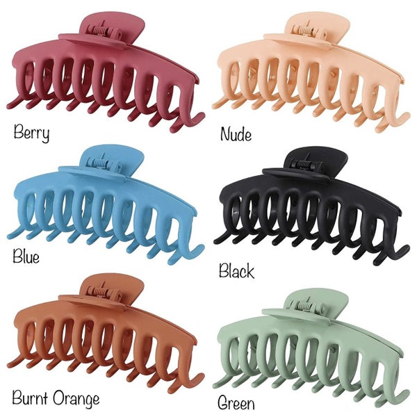 Big Claw Hair Clips Matte Finish *Final Sale*