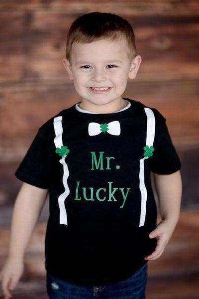 Mr. Lucky Shirt For Kids *Final Sale*