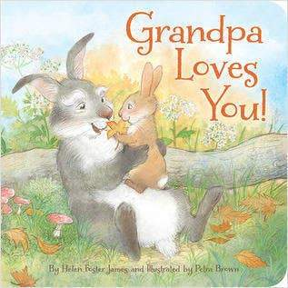 Grandpa Loves You Hardcover Book
