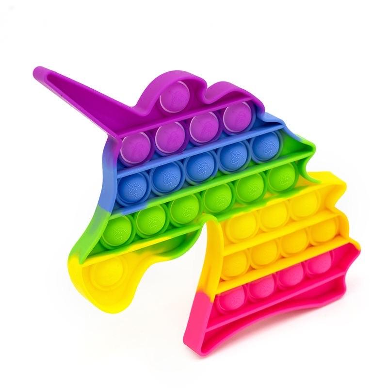 Rainbow Unicorn Fidget Popper *Final Sale*