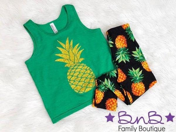 Pineapple Legging - Kids *Final Sale*